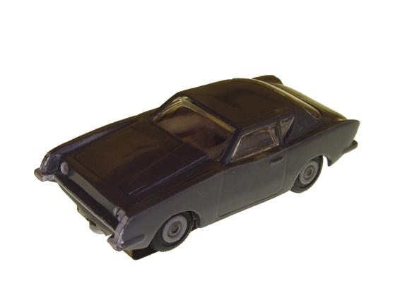 Atlas HO Scale Painted Bumper Studebaker Avanti