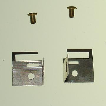 Atlas HO Slot Cars C122 Motor Terminal Clip Set With Eyelets