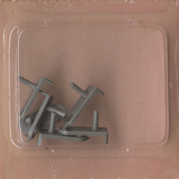 Atlas HO Slot Car Chassis C 129 Slimline Front Guide Pins