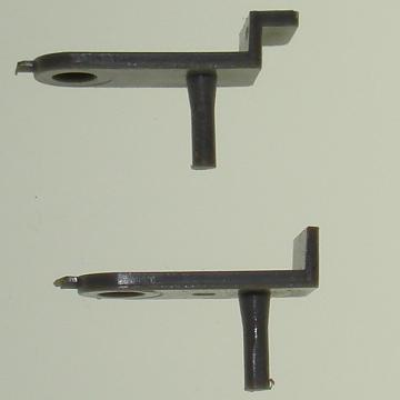 Atlas HO Slot Car C129 Front Guide Pin Comparisons
