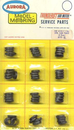 Super Model Motoring Slot Car Racing Parts Standard Tires